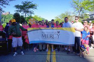 Highmark Walk Pittsburgh Mercy Team